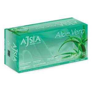 RUKAVICE LATEX ALOE VERA G00741 ZELENE 100/1 VEL.XL